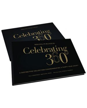 Celebrating 360 Cover and Jacket